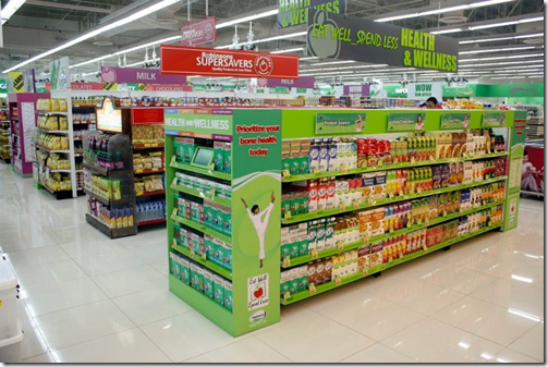 Supermarket eye tracking Manila