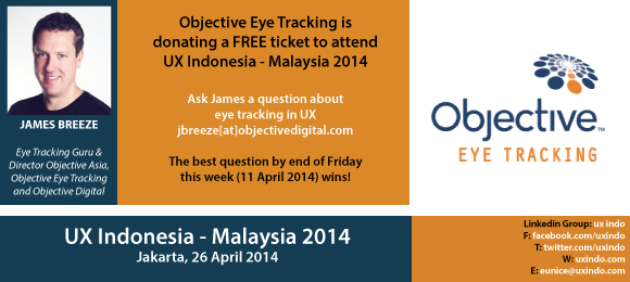 We are Demoing an Eye Tracker in Jakarta